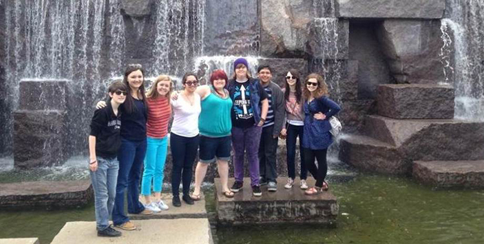 mcnc student ambassadors in april mcnc student ambassadors attended a ...